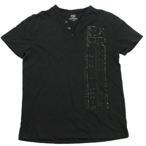 Express Gentlemen's Short Sleeve Shirt L, BLack